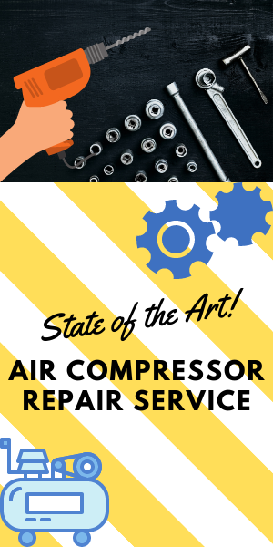 repair service for state of the art air compressors
